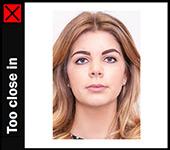 Verkeerde pasfoto ierland te dicht bij ASA Foto & Film