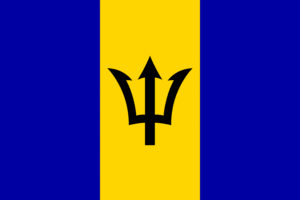Pasfoto eisen Barbados vlag ASA FOTO Amsterdam